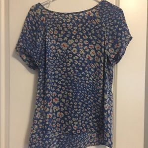 Cabi split back blouse